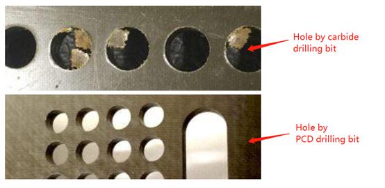 PCD vs Carbide